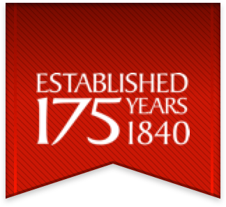 Established 175 Years - 1840