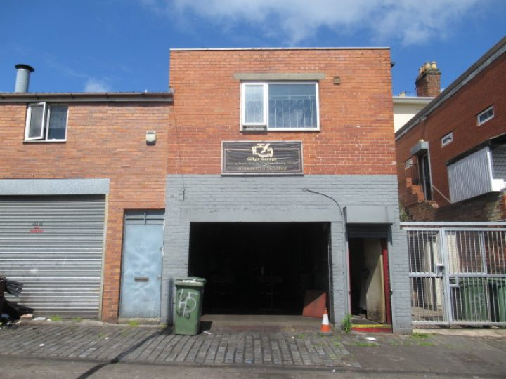 Garage To The Rear Of 47 Oxton Road, Birkenhead